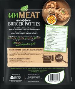 UnMeat Burger Patties BOP copy