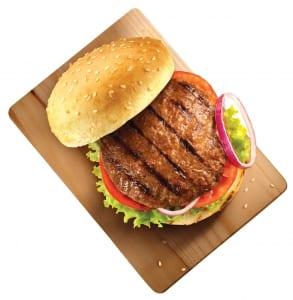 UnMeat Burger foodshot