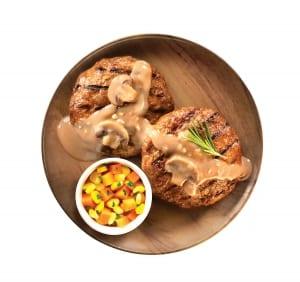 UnMeat Burger foodshot2